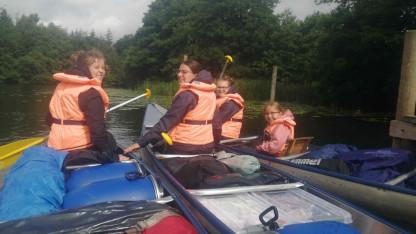 Vi sejled' op ad åen…