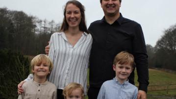 Glæde i Sæsing – ny præst ansat