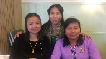 Tre kvindelige baptistpræster i Ringe