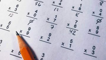 Dårlig til matematik