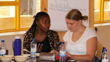 Som praktikant i Rwanda