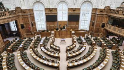 Det danske demokrati vakler