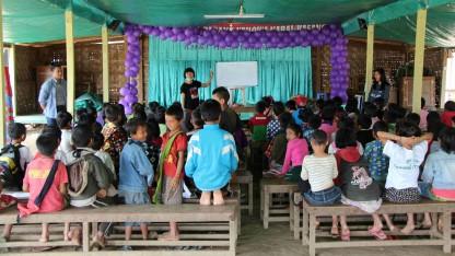 Uddannelse for alle – i det konfliktramte Kachin