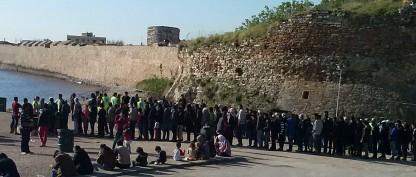 12 dage i flygtningelejr i Grækenland
