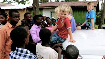 Afrika i børnehøjde