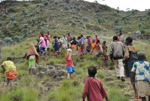 Mountain climbing, Musema, Banga Hill