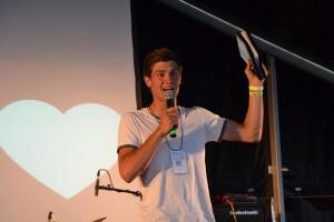 Rasmus Jonstrup Hansen, teenageleder og lægprædikant i Bethelkirken, Aalborg. Rasmus er også en af lederne på ONE.