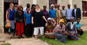 Repræsentanter fra Kvindenetværk i Danmark og Rwanda.